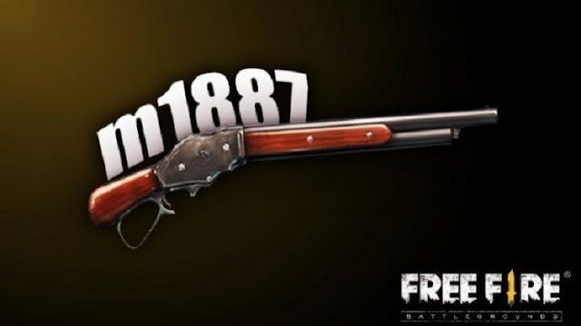 Kode Redeem Skin Shotgun M1887 FF