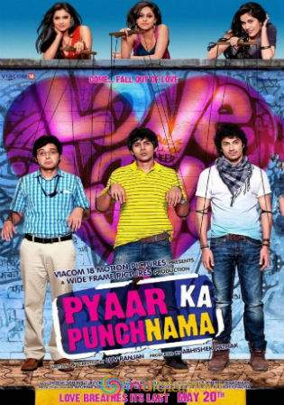 Pyaar Ka Punchnama 2011 BluRay 400MB Full Hindi Movie 480p Watch Online Full Movie Download bolly4u
