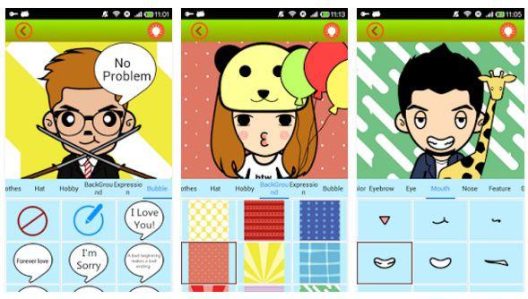 Aplikasi untuk membuat gambar avatar
