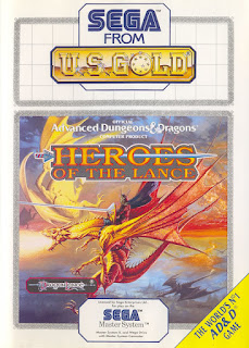 Retrogame online Heroes of the Lance Master System