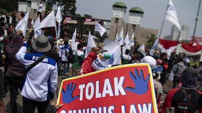 Hari Sumpah Pemuda, Buruh Akan Demo Omnibus Law