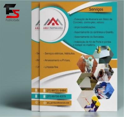 Panfletos para Construtora
