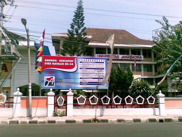 promo pendaftaran online mahasiswa baru universitas Janabadra