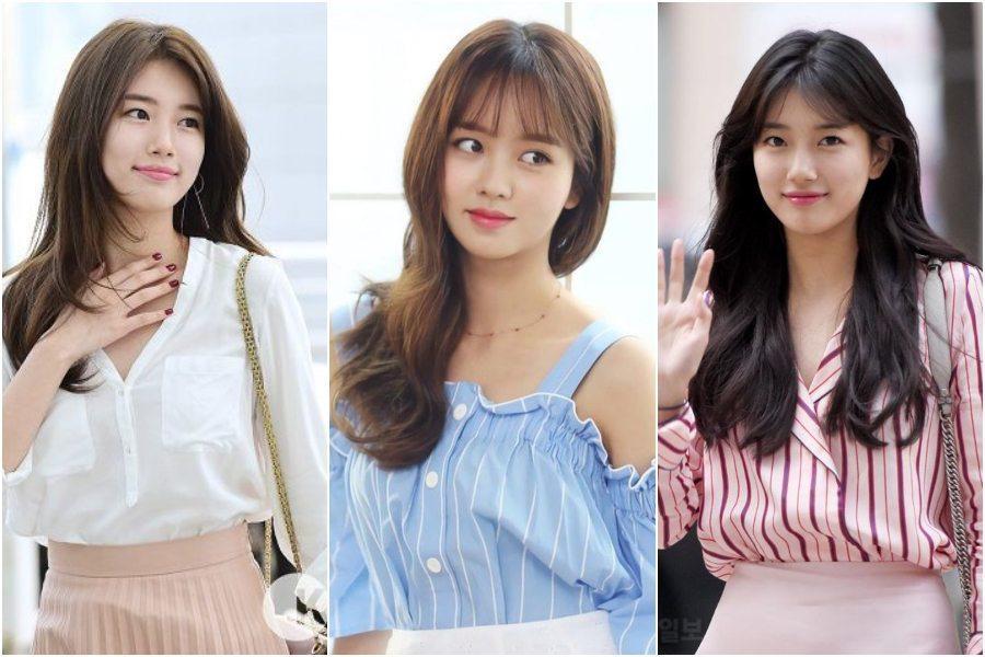 Model Rambut Panjang Wanita Korea Terbaru 2021