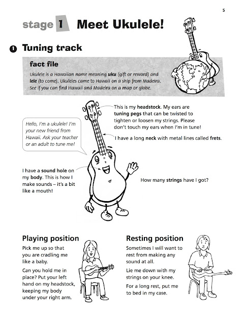 Ukulele Basics Book sample