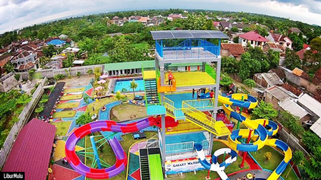 Bermain Air di Jogja Bay Adventure Pirates Waterpark