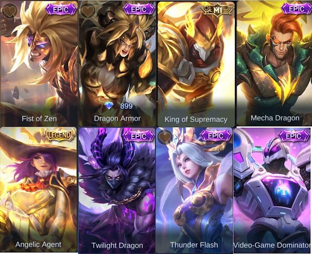 Script Mobile Legends Terbaru (Unlock All Skin) 2021