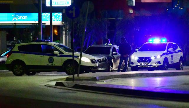 Όχημα διέφυγε τον έλεγχο της αστυνομίας στο Ναύπλιο - Ακινητοποιήθηκε από περιπολικά λίγο αργότερα