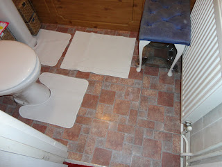 The New Bathroom Floor
