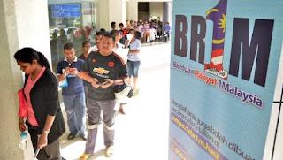 Pembayaran BR1M Peringkat Ketiga Bermula Hari Ini