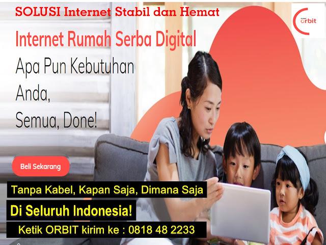 SOLUSI Internet Rumah Stabil dan Hemat