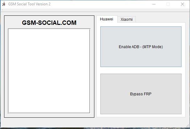 √ GSM Social Tool V2 Unlock Huawei, Xiaomi and Oppo Phone - Phone