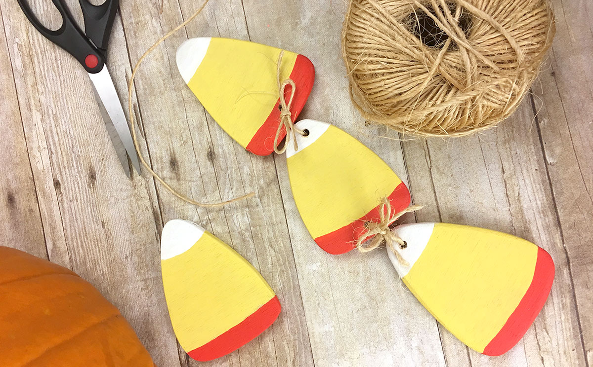 Plywood Candy Corn Free Scroll Or Jig Saw Pattern The