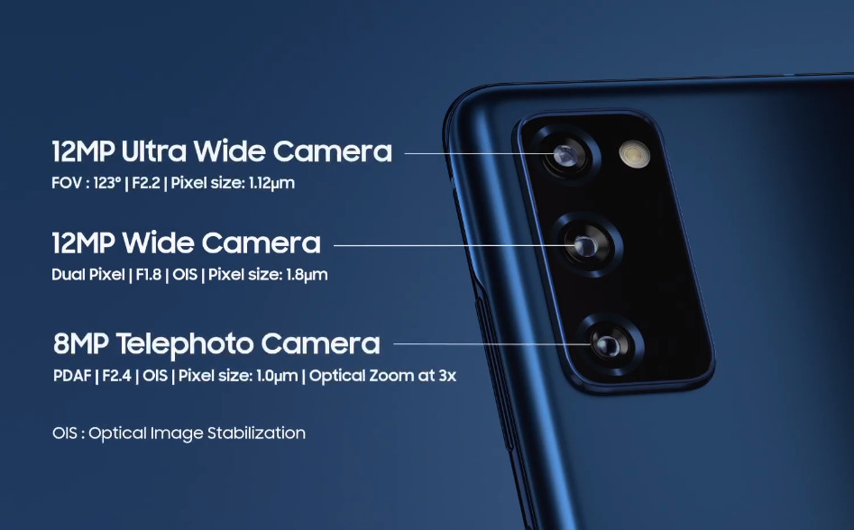 Samsung Galaxy S20 FE Cameras, Samsung Galaxy S20 Fan Edition Philippines