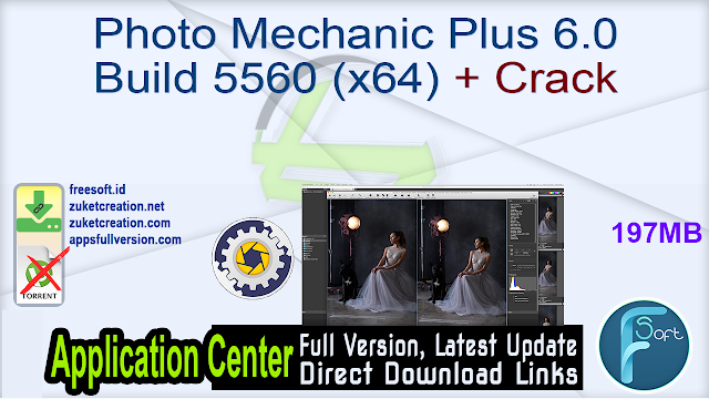 Photo Mechanic Plus 6.0 Build 5560 (x64) + Crack