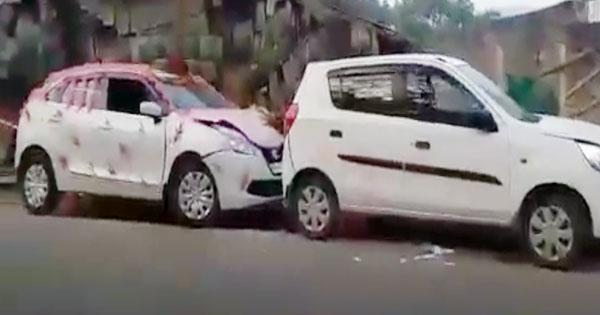 सावधानी हटी-दुर्घटना घटी, हिमाचल(Himachal) में सड़क दुर्घटना के दौरान बाल-बाल बचा दूल्हा