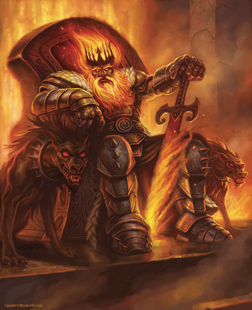 THE ART OF JIM NELSON: The Fire Giant King