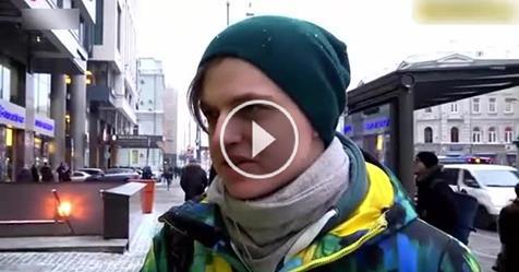 """Картинки по запросу """"Я его не слушаю, он наркоман"""", - что говорят москвичи о Путине. (Видео)"""