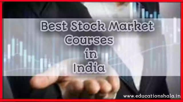 Best Masters Programs for Career in Stock Market in India 2021