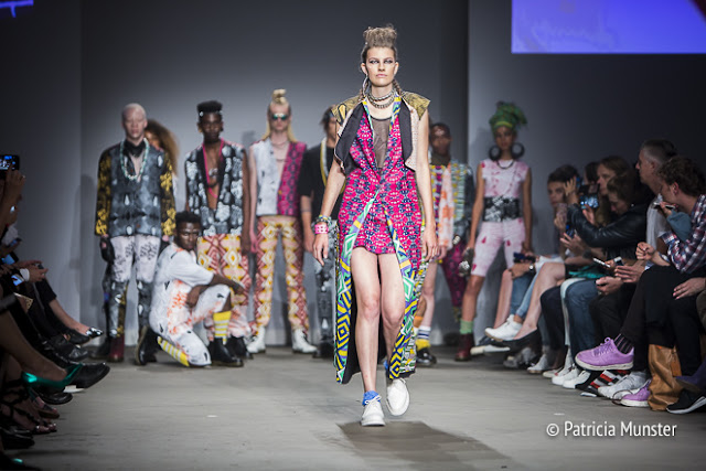 Sophia Bentoh at Amsterdam Fashion Week SS2018  'Ibileye'