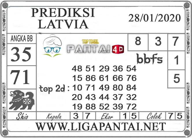 PREDIKSI TOGEL LATVIA PANTAI4D 28 JANUARI 2020