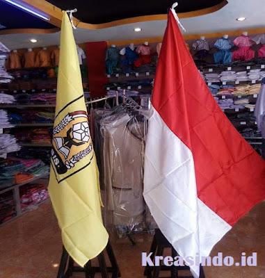 Jasa Tiang Bendera Besi di dalam ruangan di Jabodetabek dan sekitarnya