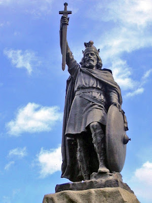 Estatua de Alfredo el Grande en Winchester - Wikipedia -