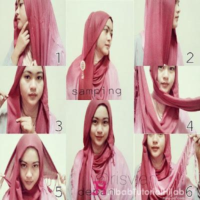 Tutorial Style Hijab Pashmina Simple Sederhana Terbaru