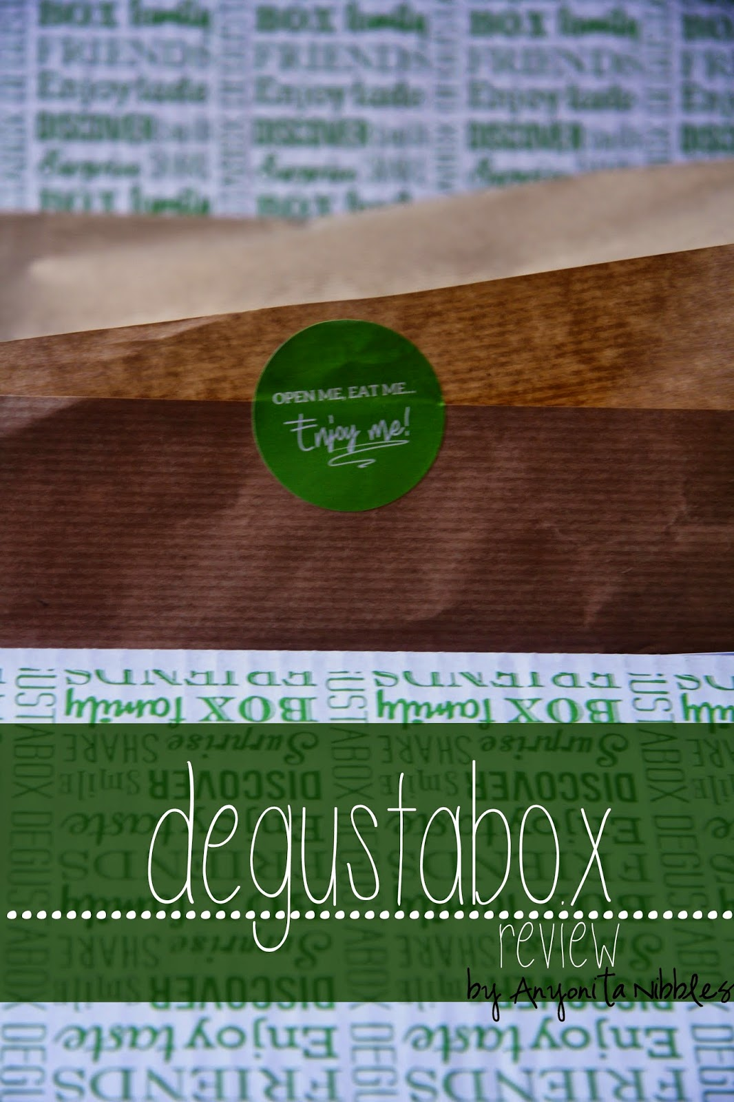 Degustabox is a to-your-door monthly food box filledwith up to 14 products new to supermarket shelves. | Anyonita Nibbles