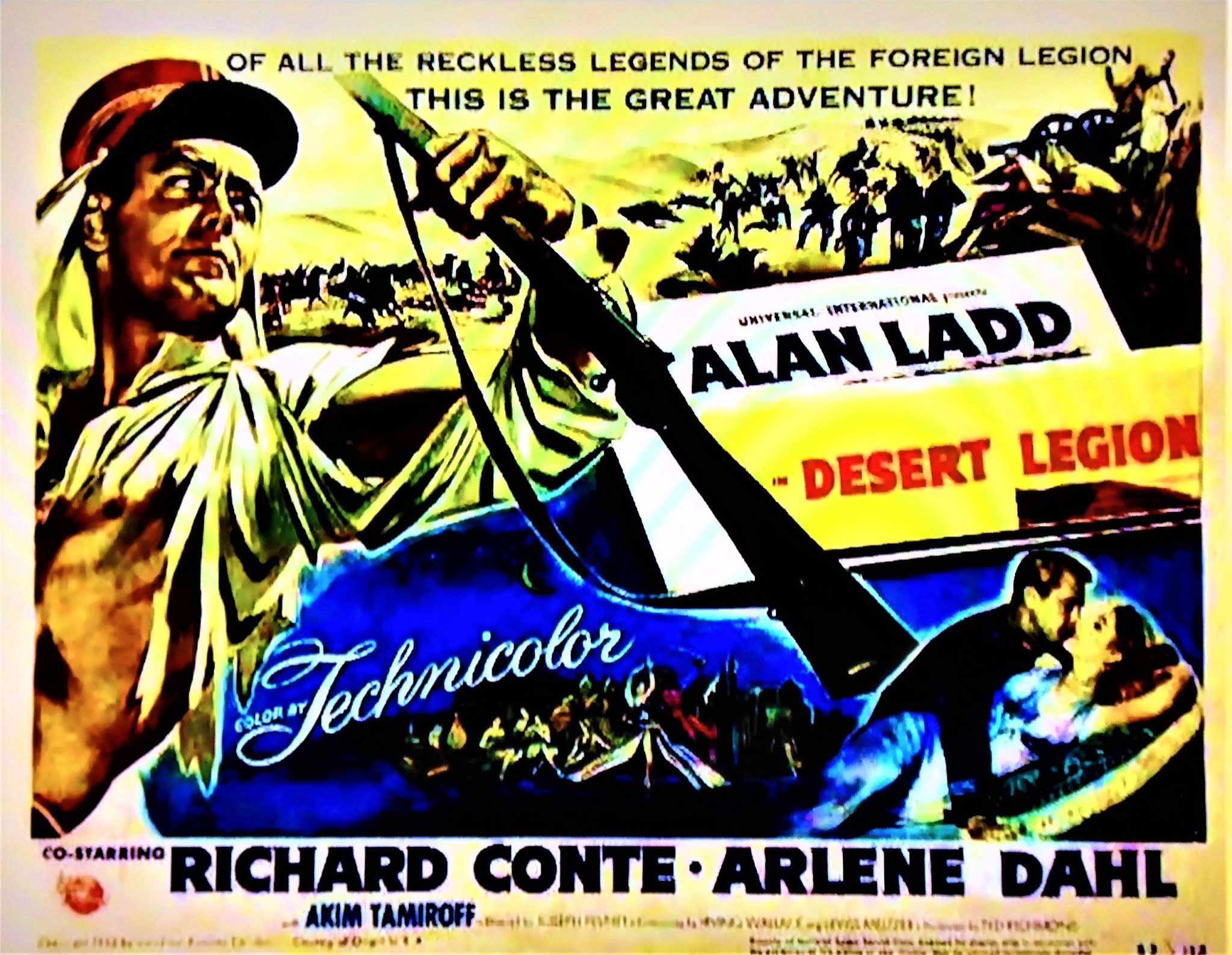 Desert Legion 1953