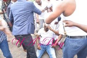 Ekiti election: Police speaks on Fayose being 'slapped, manhandled'