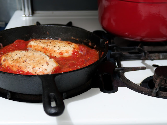 Baked Chicken in Creamy Tomato Sauce from Dinner: A Love Story | salt sugar and i
