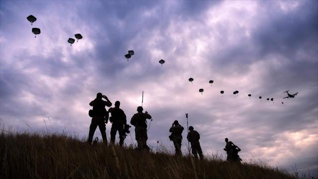 OTAN realiza ejercicios militares en medio de tensión con Rusia