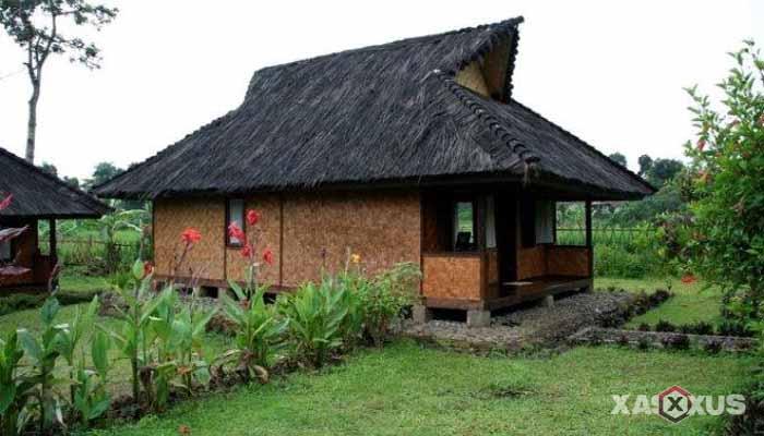 Gambar rumah adat Indonesia - Rumah adat Banten atau Rumah Sulah Nyanda