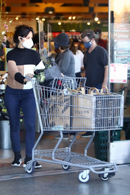 Camila Cabello – Shopping candids at Erewhon Market in Los Angeles