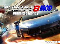Cheat Asphalt 8 Mod Apk Unlimited Money Terbaru