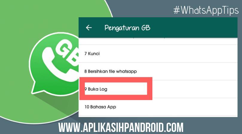 Cara melihat semua daftar teman online ofline di whatsapp