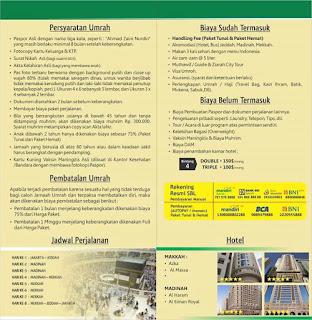 Program Umroh DP 3 Juta Langsung Berangkat, Bisa Di Bayar 12 Kali (Tanpa Bunga, No. Riba)
