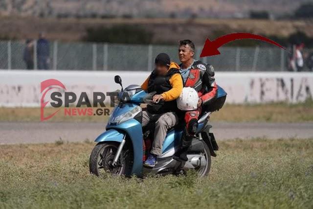 Σοβαρό ατύχημα σε αγώνα ταχύτητας στα Μέγαρα και μεταφορά του τραυματία με βεσπάκι