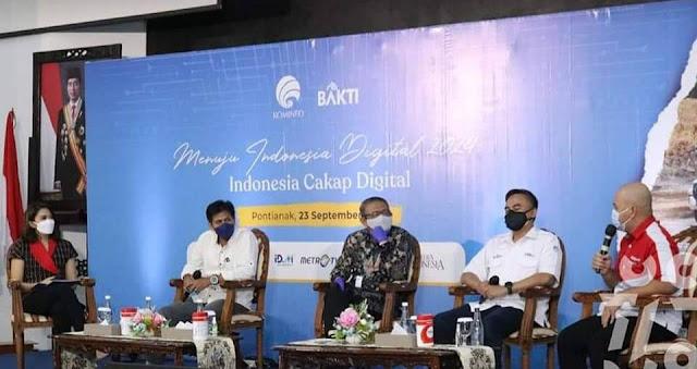 Gubernur Dorong Agar Seluruh Kalbar Dapatkan Fasilitas Jaringan Internet
