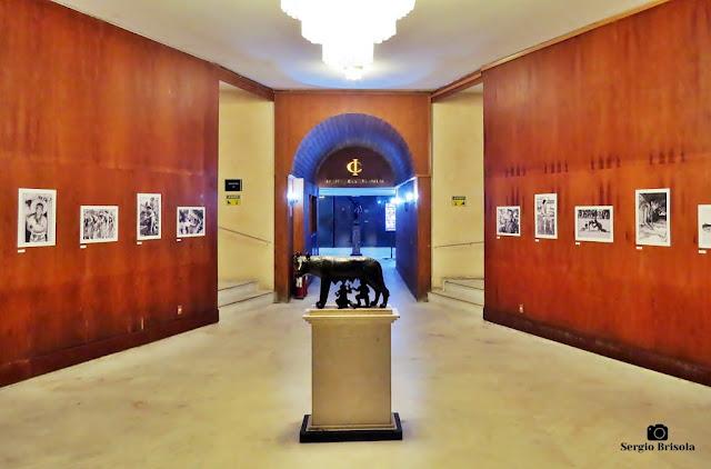 Vista do Hall do Circolo Italiano - Edifício Itália - São Paulo