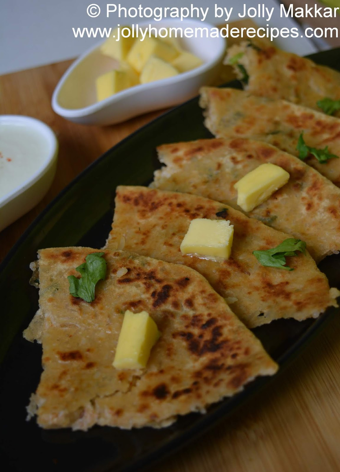 stuffed rice paratha