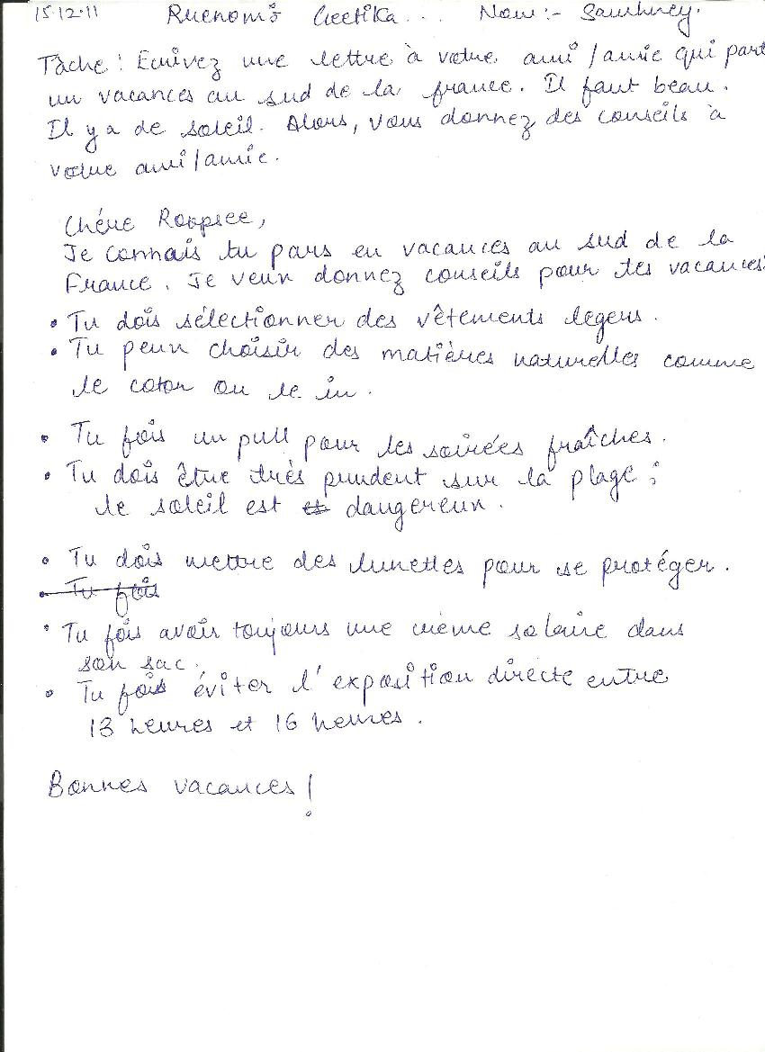 Lettre A Un Ami Cher : lettre, Lettre