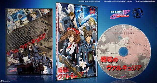 Senjou no Valkyria: Valkyria Chronicles   Cover DVD  