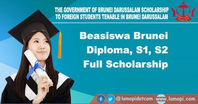 Beasiswa Brunei Darussalam 2021