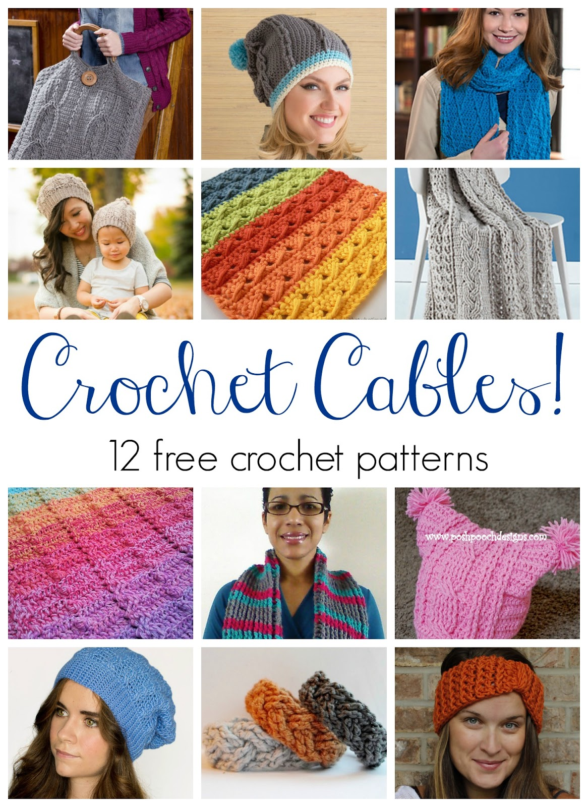 Fiber Flux Crochet Cables 12 Beautiful And Free Patterns
