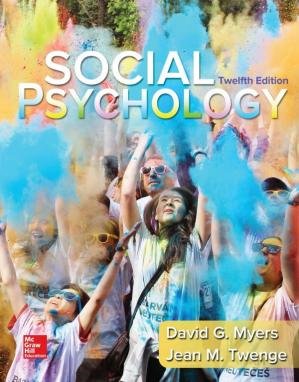 Social Psychology 12th Edition