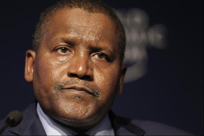 Aliko Dangote, Chairman Dangote Group: company now coal miner in Tanzania
