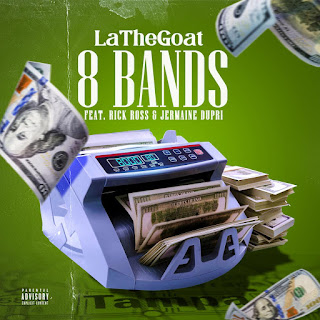 "LaTheGoat Links Up With Jermaine Dupri And Rick Ross On ""8 Bands"" Remix"