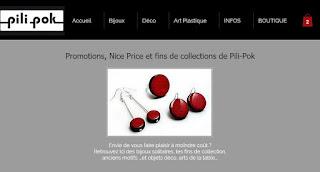 soldes promotions fins de series petits prix bijoux créations pilipok boutique en ligne